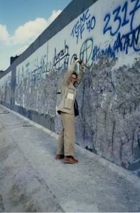 Chipping away at the Berlin Wall