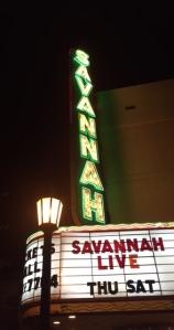 Savannah's haunted theater