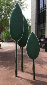 One example of Louisville's bike rack art