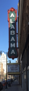 The Alabama Theater built in 1927