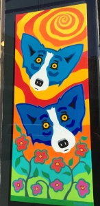 The Blue Dog by George Rodrigue