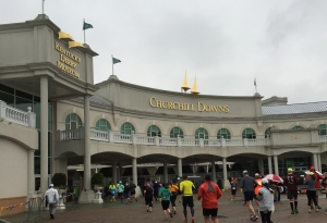 The entry into Churchill Downs
